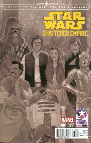 STAR WARS - SHATTERED EMPIRE #1 Diamond RS excl cvr