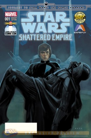STAR WARS - SHATTERED EMPIRE #1 Long Branch Comic Con excl cvr