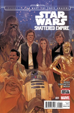 STAR WARS - SHATTERED EMPIRE #1 review spoilers 1