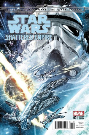 STAR WARS - SHATTERED EMPIRE #1 review spoilers 2