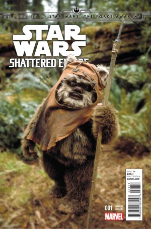 STAR WARS - SHATTERED EMPIRE #1 review spoilers 5