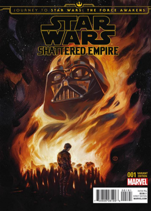 STAR WARS - SHATTERED EMPIRE #1 review spoilers 9