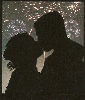 STAR WARS - SHATTERED EMPIRE #1 - smooching silhouette