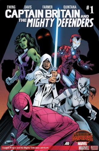 Secret Wars 2015 Captain Britan and the Secret Defenders #1