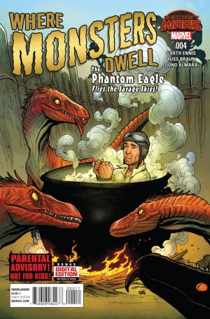 WHERE MONSTERS DWELL #4 review spoilers