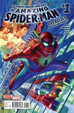 All-New All-Different Marvel Comics Amazing Spider-Man #1 Spoilers Preview 1