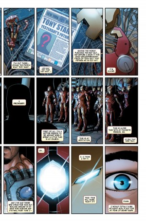 All-New All-Different Marvel Comics Invincible Iron Man #1 Spoilers Preview B
