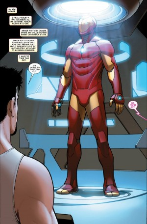 All-New All-Different Marvel Comics Invincible Iron Man #1 Spoilers Preview C