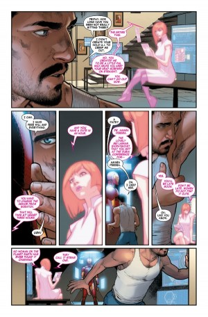 All-New All-Different Marvel Comics Invincible Iron Man #1 Spoilers Preview D