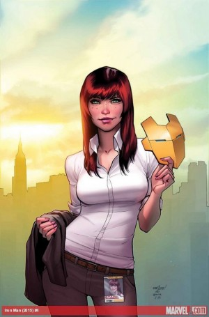 All-New All-Different Marvel Comics Invincible Iron Man #4 Spoilers Preview SPIDER-MAN Mary Jane Peter Parker
