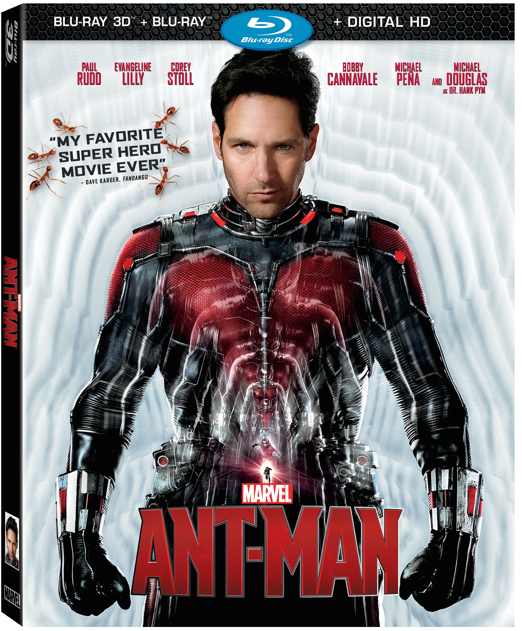 'Ant-Man' Blu-ray Trailer Promises More Excitement