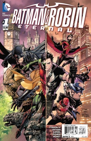 Batman and Robin Eternal #1 DC Comics Spoilers Preview 1