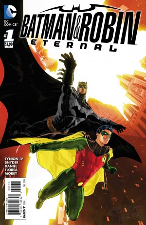 Batman and Robin Eternal #1 DC Comics Spoilers Preview 2