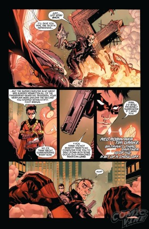 Batman and Robin Eternal #1 DC Comics Spoilers Preview 6