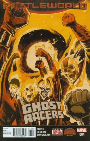 GHOST RACERS #4 review spoilers 1