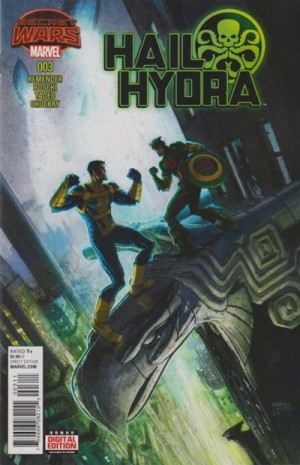 HAIL HYDRA #3 review spoilers 1