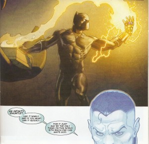 SECRET WARS #6 Panther's power play