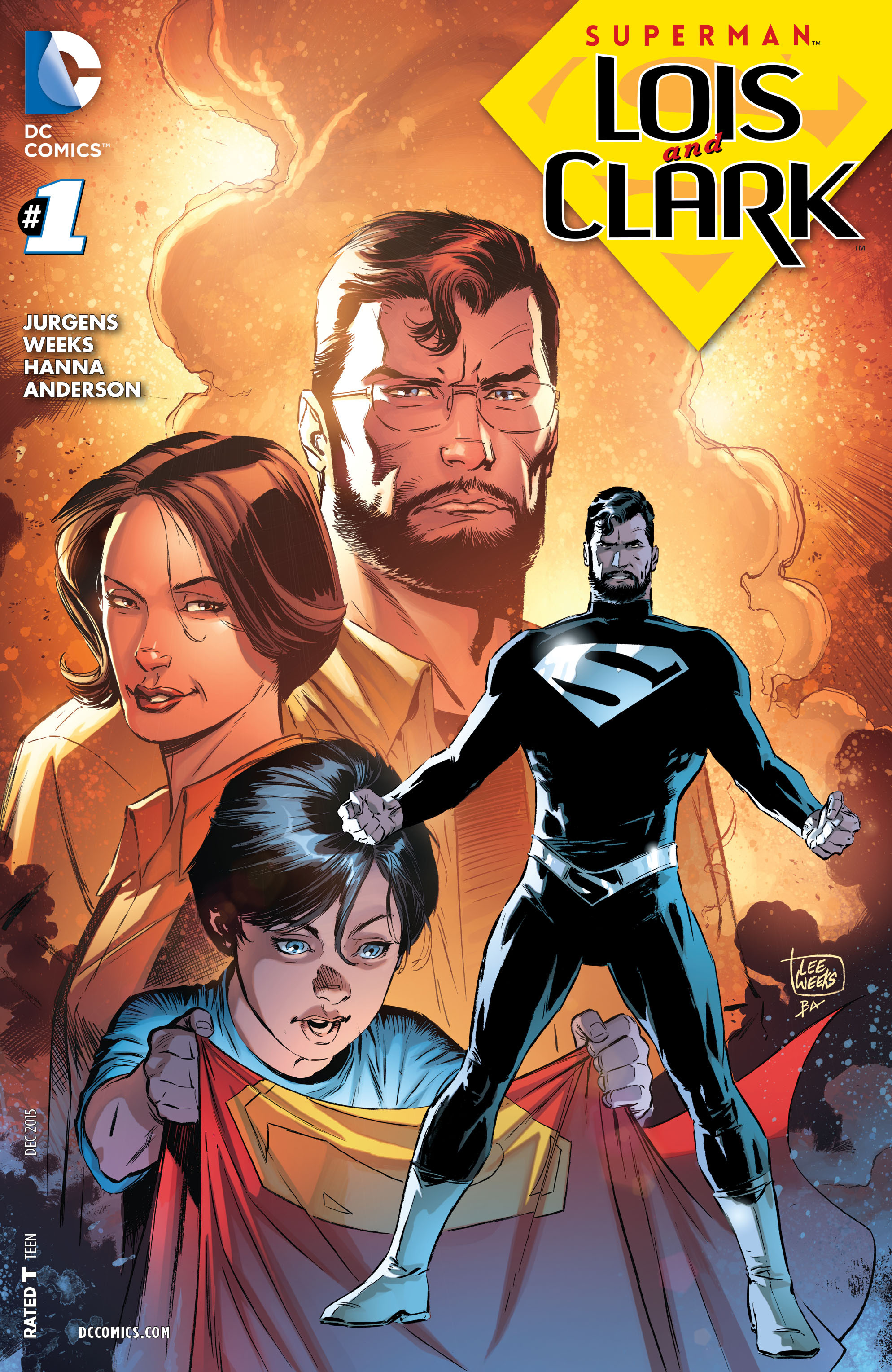 Superman Lois and Clark #1 spoilers review 0