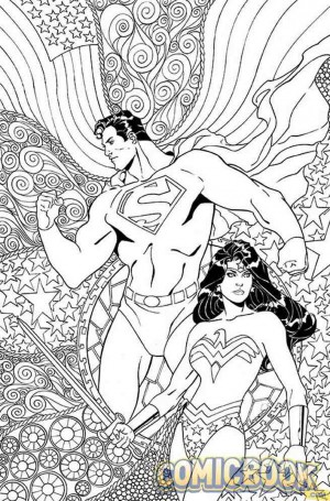 Superman Wonder Woman #25 variant January 2016