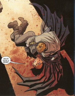 DARK KNIGHT III - MASTER RACE Carrie Kelly can't carry on