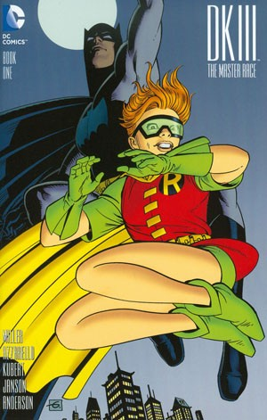 DARK KNIGHT III - MASTER RACE Dave Gibbons cover