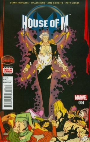 HOUSE of M #4 review spoilers 1