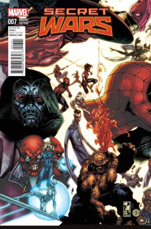 SECRET WARS #7 review spoilers 2
