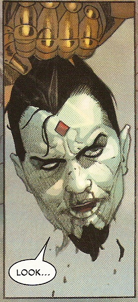 SECRET WARS #7 talking head