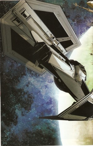 STAR WARS - VADER DOWN double-page spread 1.1