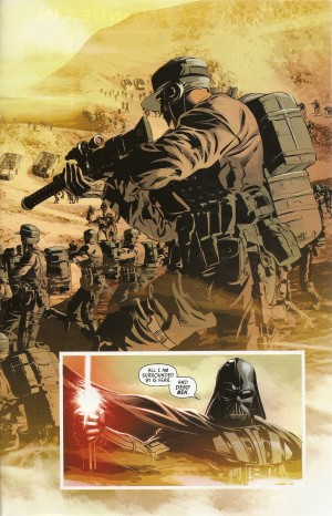 STAR WARS - VADER DOWN double-page spread 4.2