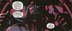 STAR WARS - VADER DOWN he does not cower