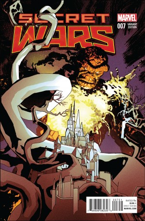 Secret Wars #7 2015 Marvel Comics Spoilers Preview 2