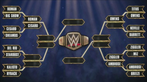 wwe tournament
