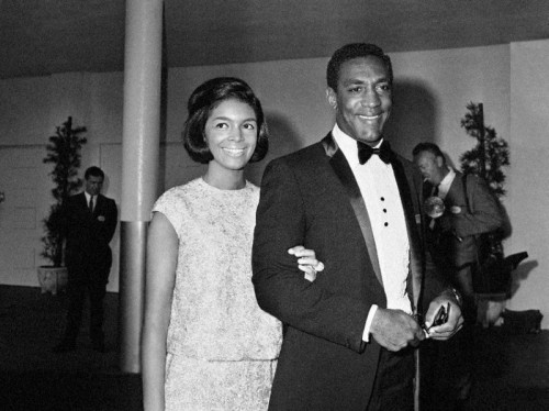 Camille Cosby and Bill Cosby then
