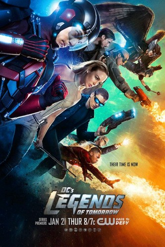 DC's Legends of tomorrow ad