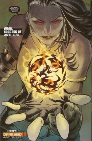 JUSTICE LEAGUE #46 Goddess of Anti-Life - Grail