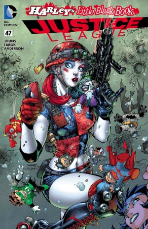JUSTICE LEAGUE #47 Harley's Little Black Book variant