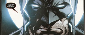 JUSTICE LEAGUE #47 faces - Batman
