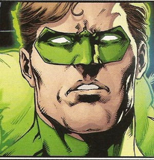 JUSTICE LEAGUE #47 faces - Green Lantern
