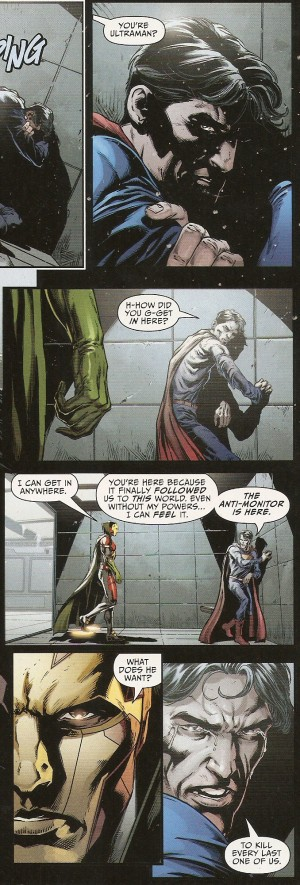 JUSTICE LEAGUE #47 weak & withered