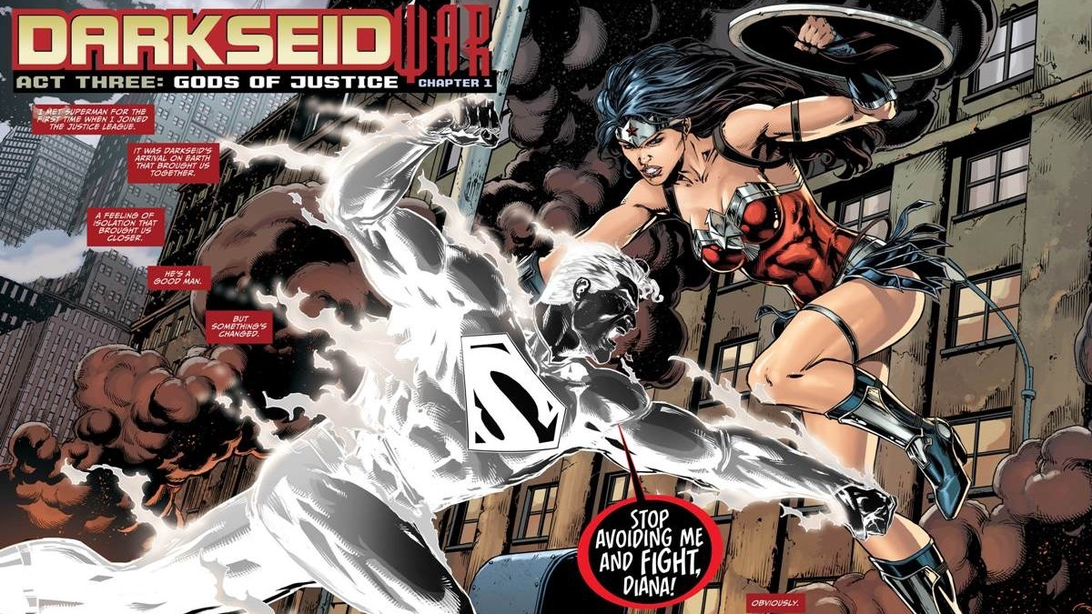 DC Comics' Darkseid War Part 7 Review & Spoilers: Justice League #47 By  Geoff Johns, Jason Fabok, Brad Anderson. Crime Time!!