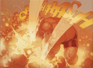 SECRET WARS #8 fists pounding