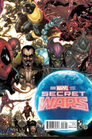SECRET WARS #8 review spoilers 2