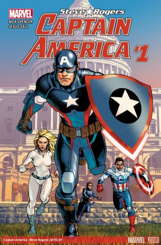 All-New All-Different Marvel Comics Captain America Steve Rogers #1A