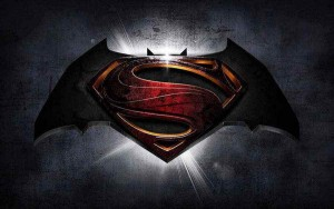Batman Superman logo movie