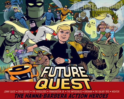 Jonny Quest DC Comics Future Quest