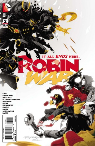 Robin War #2 spoilers Dick Grayson Robin Nightwing Court of Owls 0