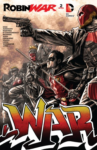 Robin War #2 spoilers Dick Grayson Robin Nightwing Court of Owls 1