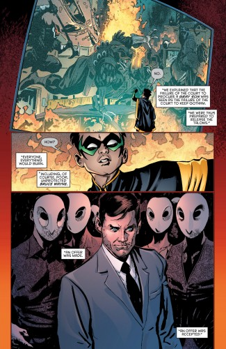 Robin War #2 spoilers Dick Grayson Robin Nightwing Court of Owls 3