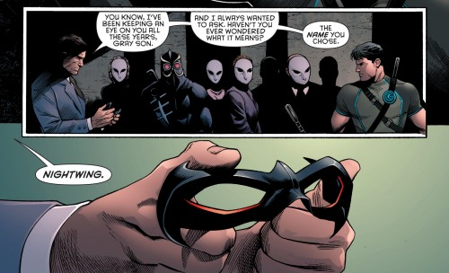 Robin War #2 spoilers Dick Grayson Robin Nightwing Court of Owls 4